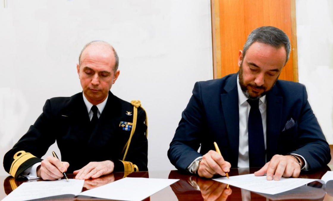 Renewal of Memorandum of Agreement Between the Hellenic Navy & FARAD